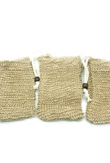 bamboo switch Double Layer Sisal Soap Pouch