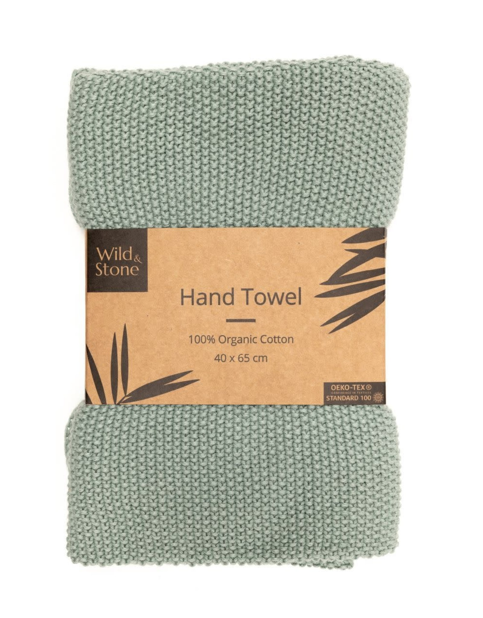 Wild & Stone Hand Towel Green