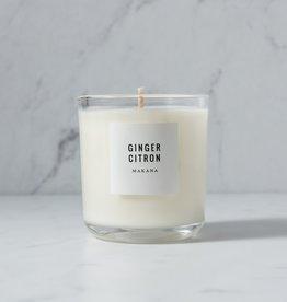makana Makana Candles Ginger Citron