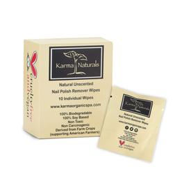 Karma Naturals Non Toxic Nail Polish Remover Wipes