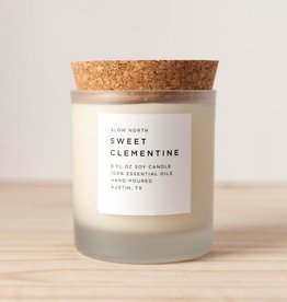 Slow North Candle Sweet Clementine