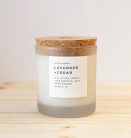 Slow North Lavender + Cedar Candle