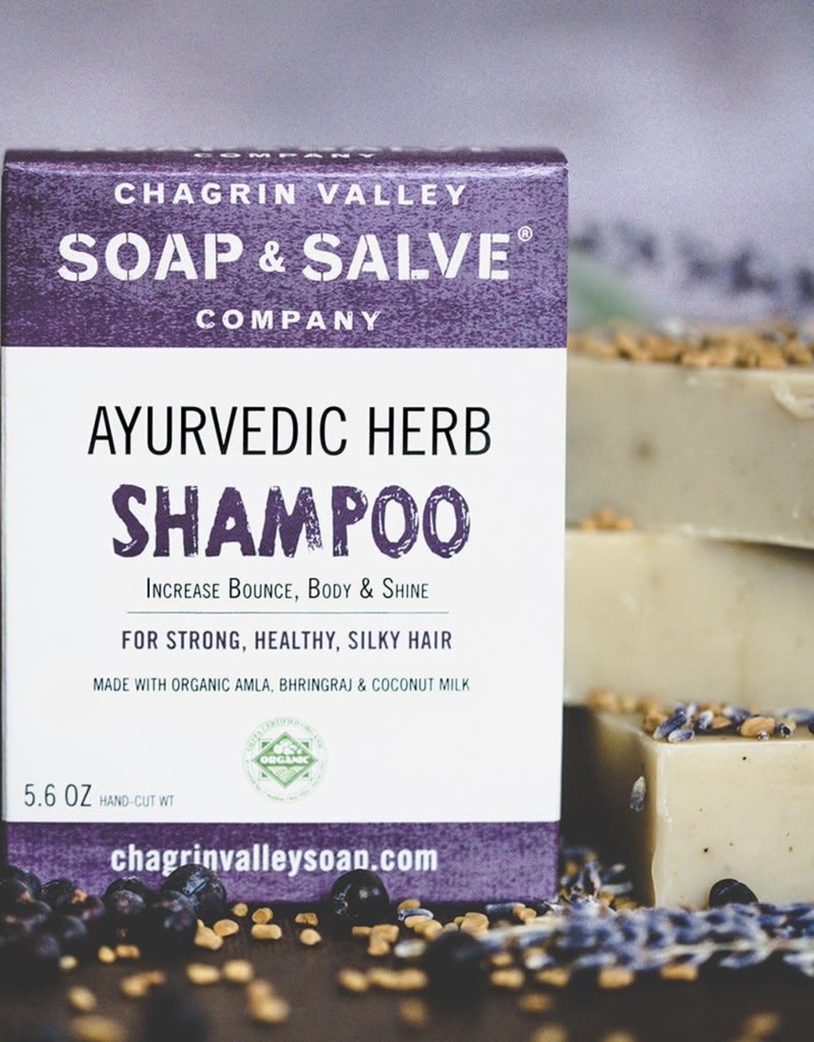 chagrin valley Ayurvedic Herb Shampoo Bar