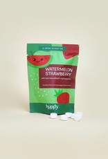 Huppy Watermelon and Strawberry Toothpaste Tabs for Kids