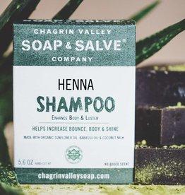 Chagrin Valley Henna Shampoo Bar