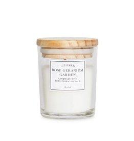 Rose Geranium Garden Candle