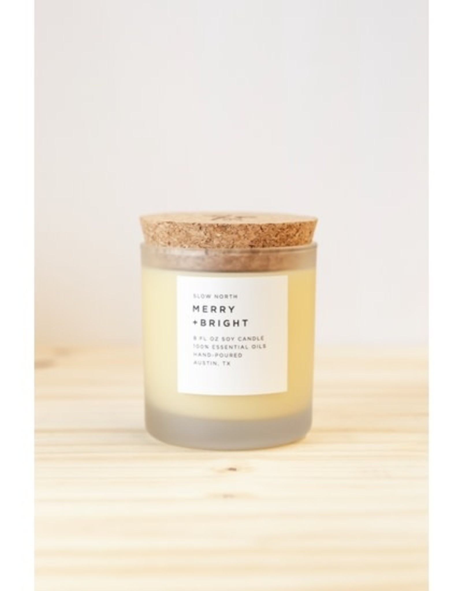Slow North Merry and Bright Candle
