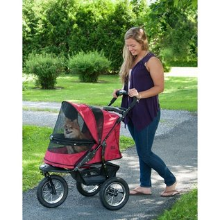 Pet Gear Jogger No-Zip Pet Stroller - Rugged Red