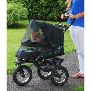 Pet Gear NV No-Zip Pet Stroller - Skyline