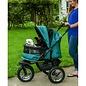 Pet Gear No-Zip Double Pet Stroller - Pine Green