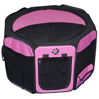 Pet Gear Travel Lite Soft-Sided Pet Pen - Medium/Pink