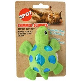 Spot Shimmer Glimmer Turtle Catnip Toy - Assorted Colors