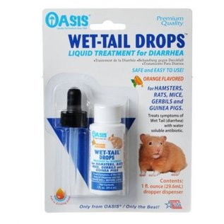 Oasis Small Animal Wet Tail Drops - Diarrhea Treatment