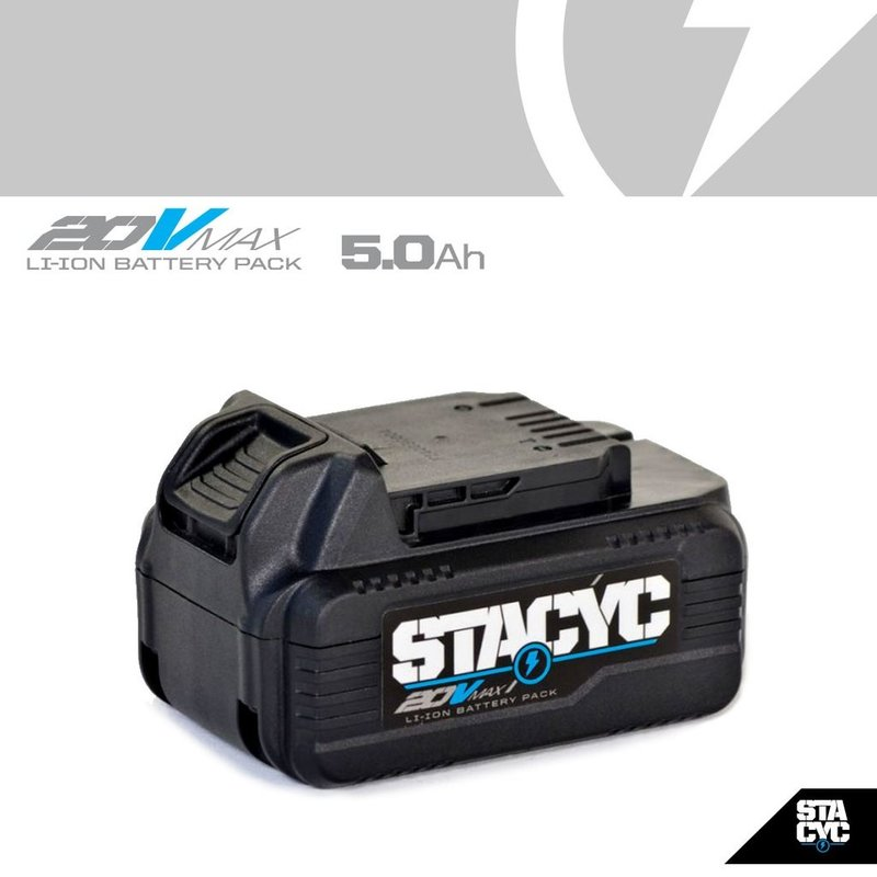 Stacyc Stability Cycle 20VMAX 5AH BATTERY