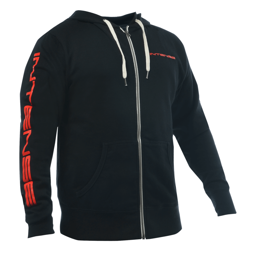 Intense Cycles Intense Zip-Up Hoodie Logo