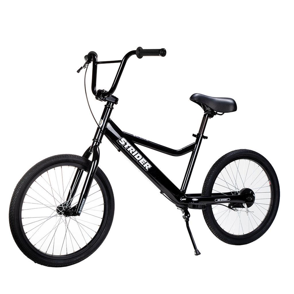 """STRIDER Strider 20"""" Sport Bike Black"""