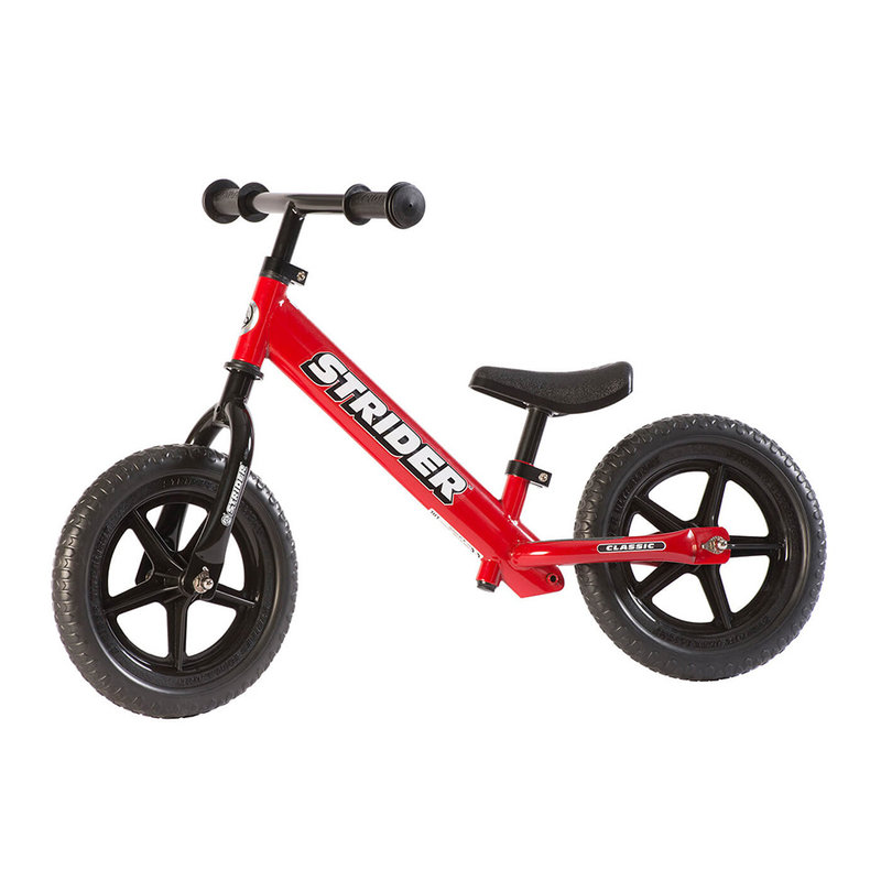 "STRIDER Strider 12"" Classic Balance Bike Red"