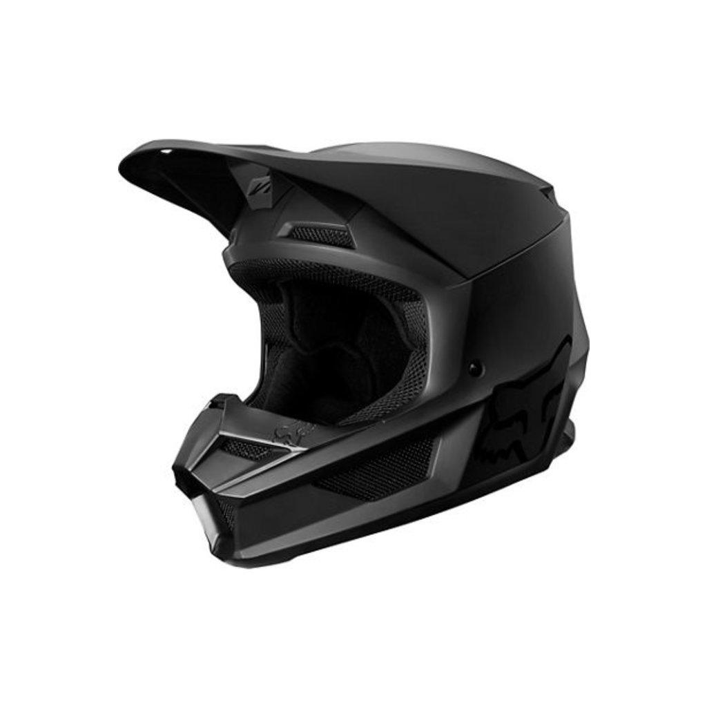 FOX Fox V-1 Youth Helmet Matte Black