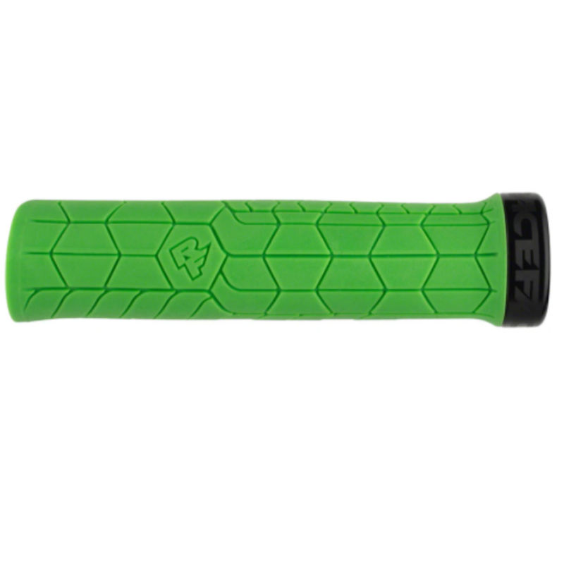 RaceFace Getta Grips - Green, Lock-On, 30mm