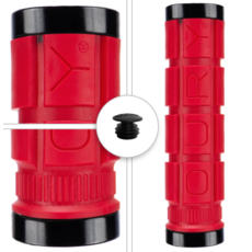 Oury oury lock on grips-red