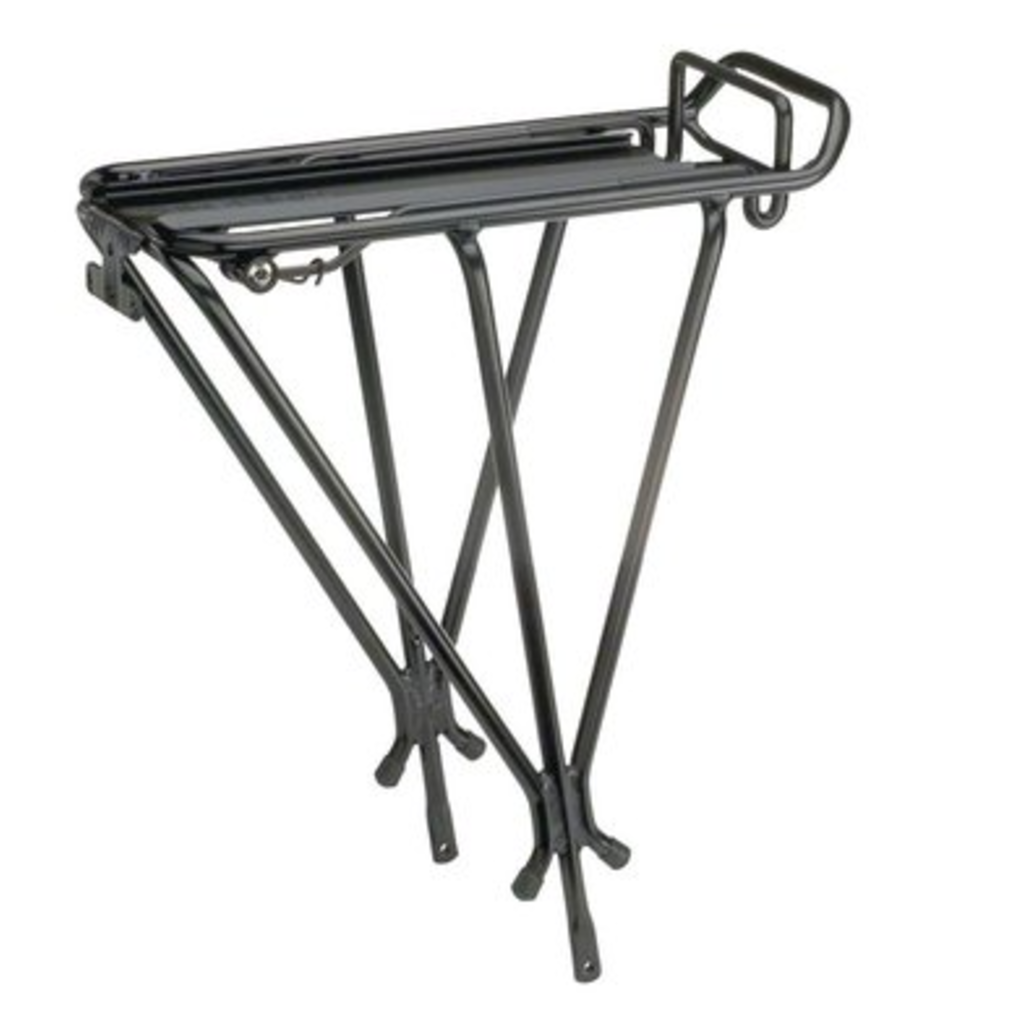 Topeak Topeak Explorer Rear Rack with Spring Clip: Black
