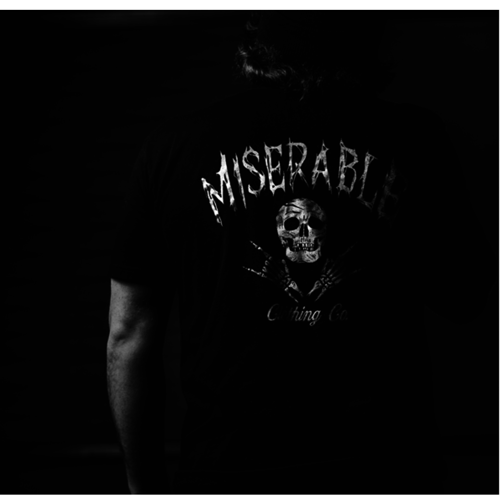 Miserable Clothing Co Miserable Logo Tee