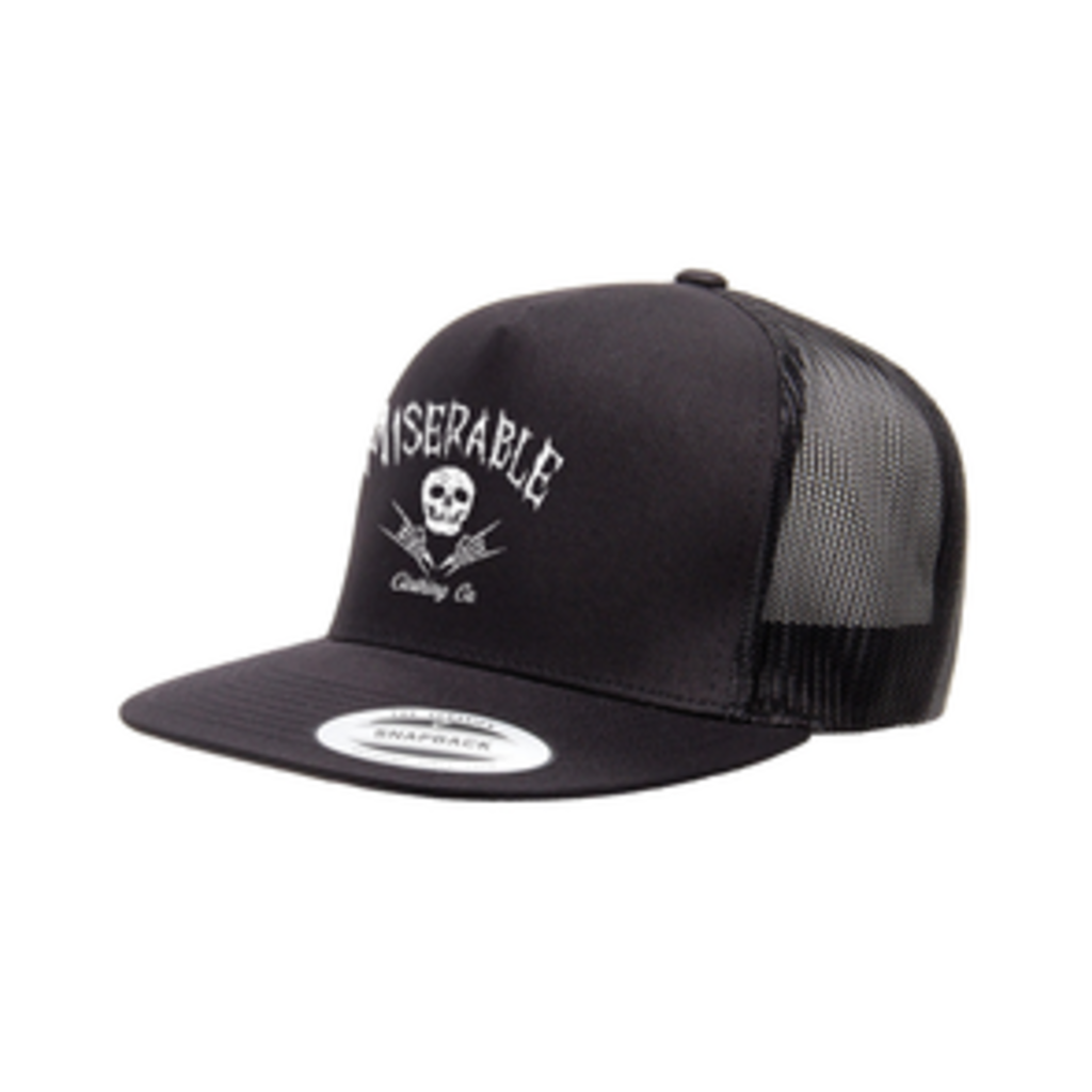 Miserable Clothing Co Miserable Logo Classic Trucker Cap