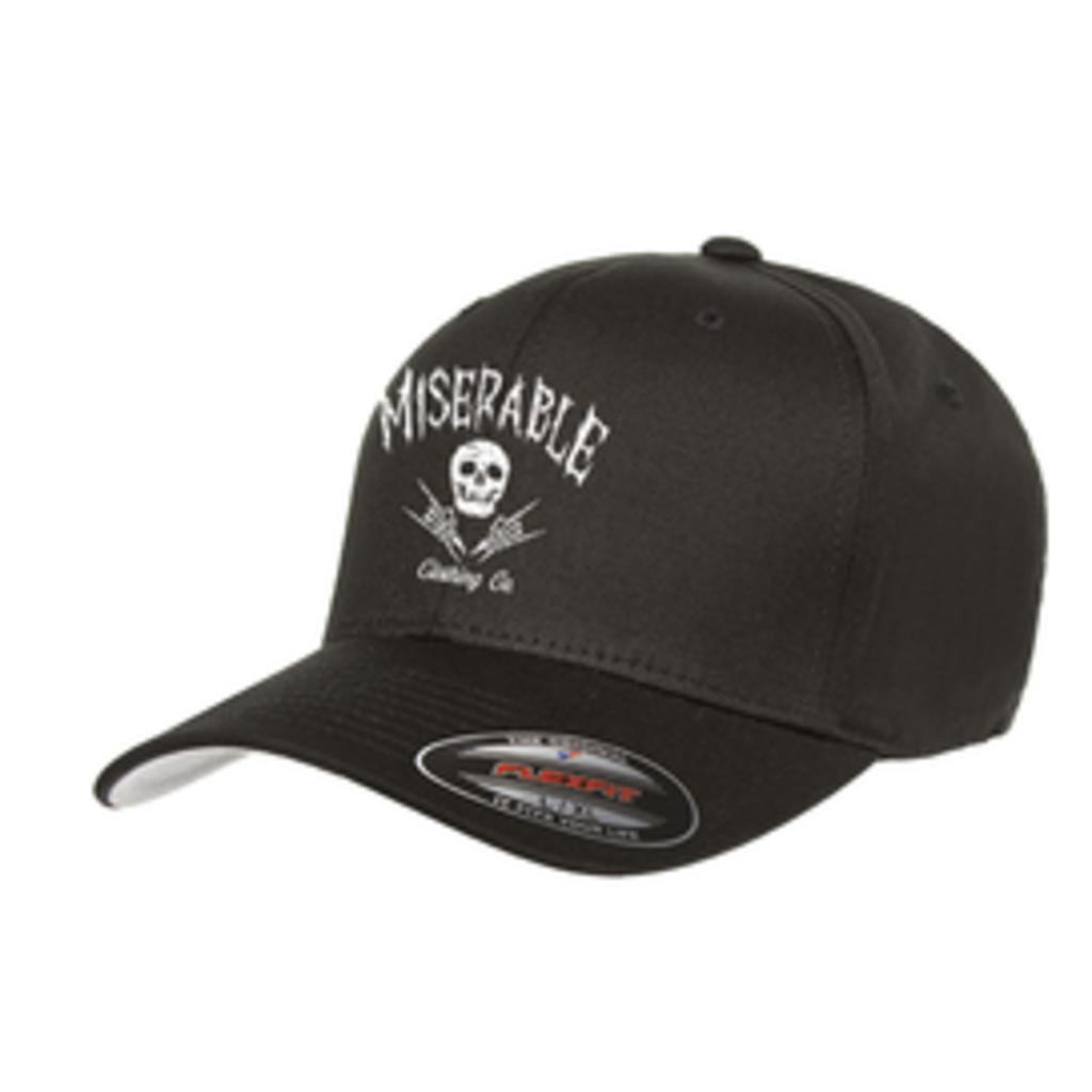 Miserable Clothing Co Miserable Logo Cotton Twill Cap