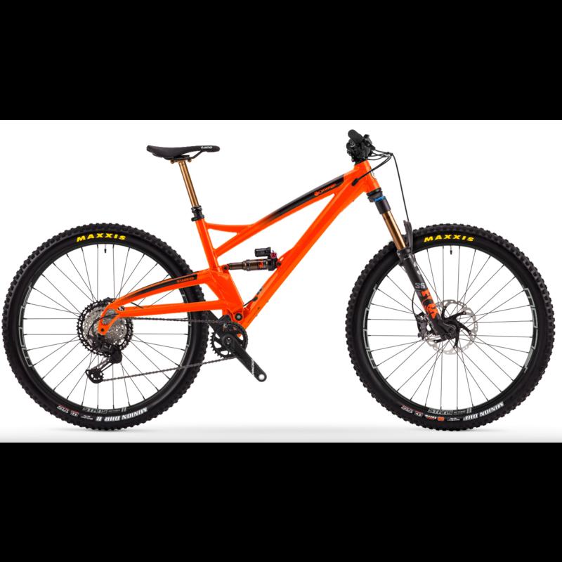 Orange Mountain Bikes Orange Stage Evo Factory Fizzy Orange L