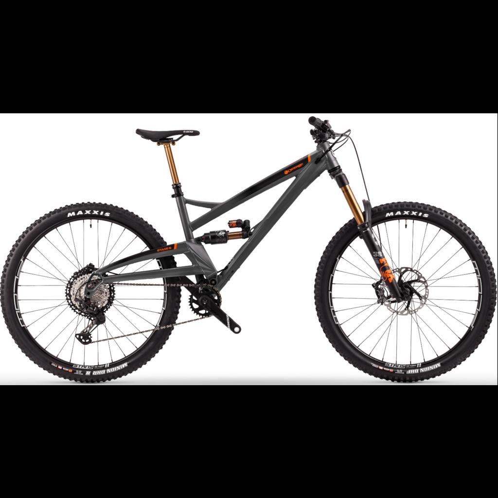 Orange Mountain Bikes Orange Stage 6 Factory Charcoal L