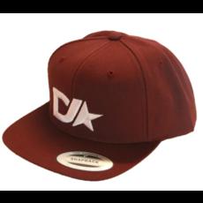 Dedicated Ride Dedicated Ride Premium Classic Snap Back Hat Maroon
