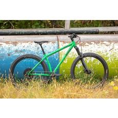 "Surly Surly Karate Monkey Front Suspension Bike - 27.5"", Steel, High Fiber Green, L"