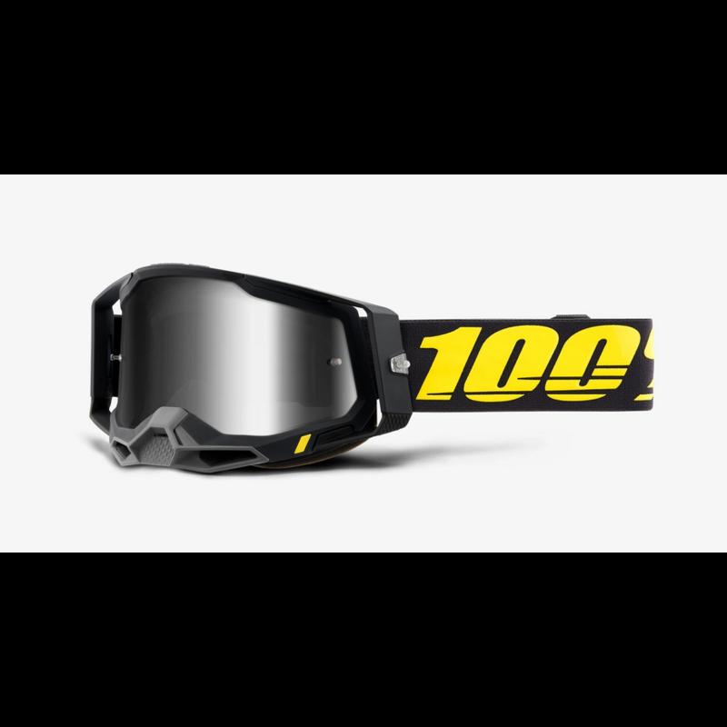 100% 100% RACECRAFT 2 Goggle Arbis - Mirror Silver lens