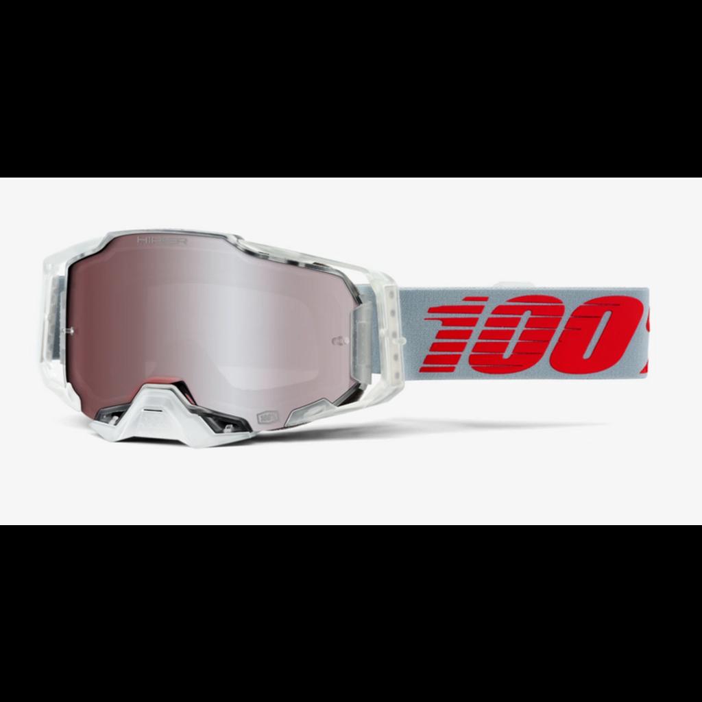 100% 100% ARMEGA Goggle X-Ray - HiPER Silver Lens
