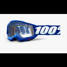 100% 100% ACCURI 2 OTG Goggle Blue - Clear Lens