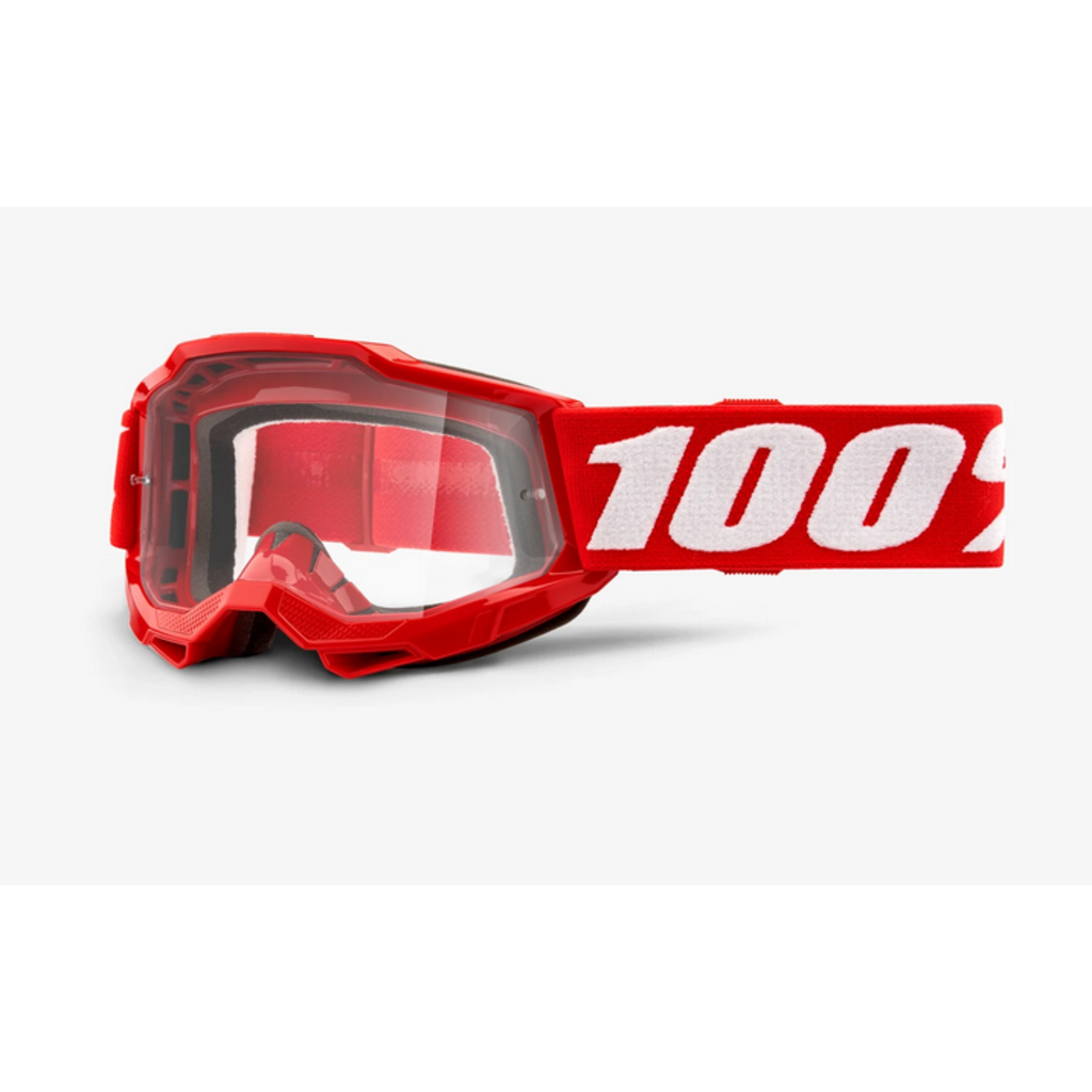 100% 100% ACCURI 2 Youth Goggle Red