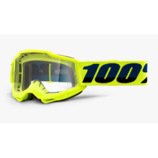 100% 100% ACCURI 2 Youth Goggle Fluo Yellow - Clear Lens