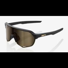100% 100 % S2 - Matte Black - Soft Gold Mirror
