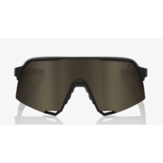 100% 100%  S3 - Soft Tact Black - Soft Gold Mirror