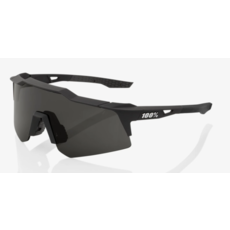 100% 100% Speedcraft XS - Soft Tact Black - Smoke Lens