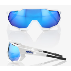 100% 100% Speedtrap - Matte Metallic Into the Fade - Blue Topaz Multilayer Mirror Lens