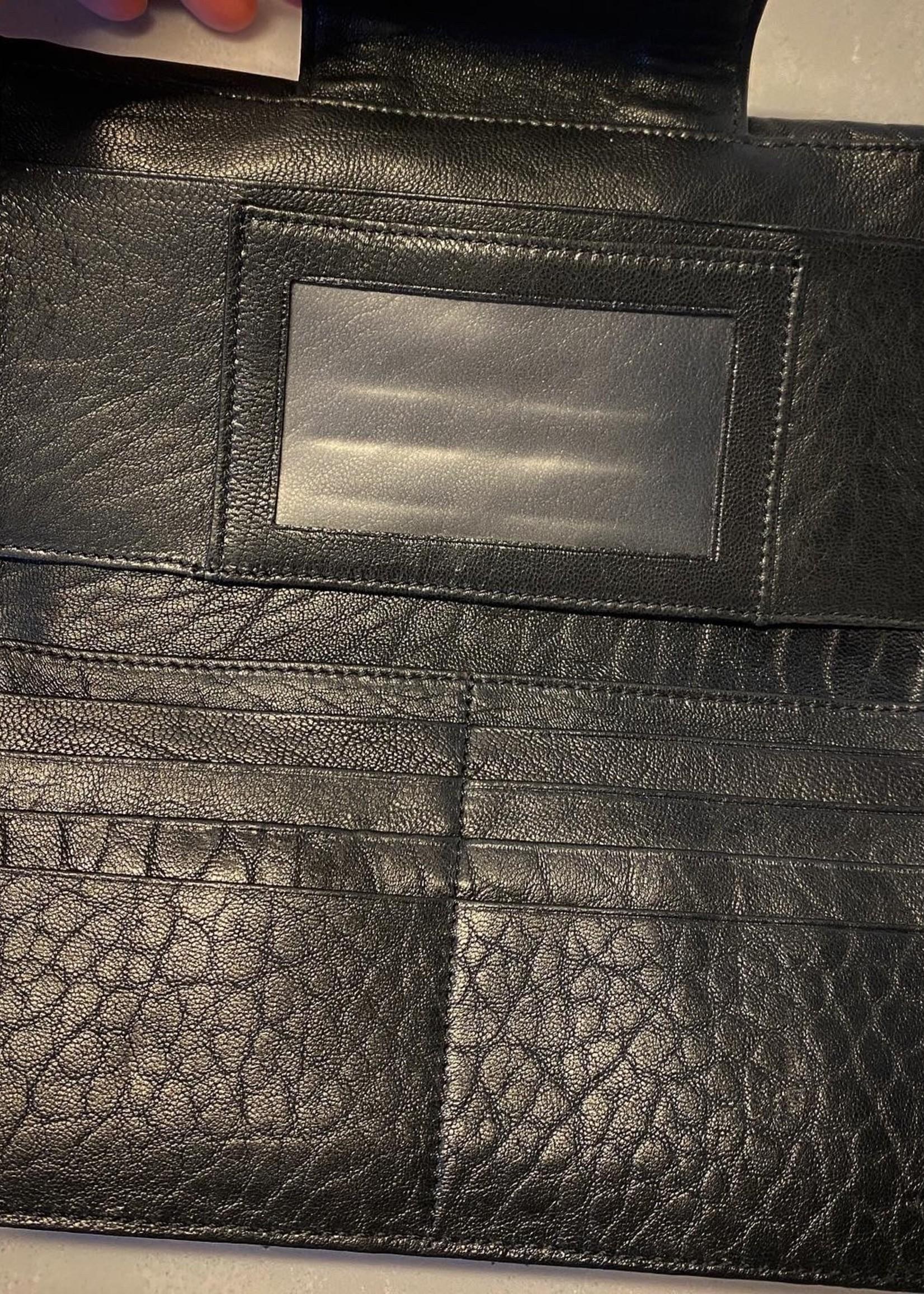 Fendi Black Spy Line Wallet