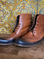 Dsquared2 Brown/Black Wingtip Boot 12