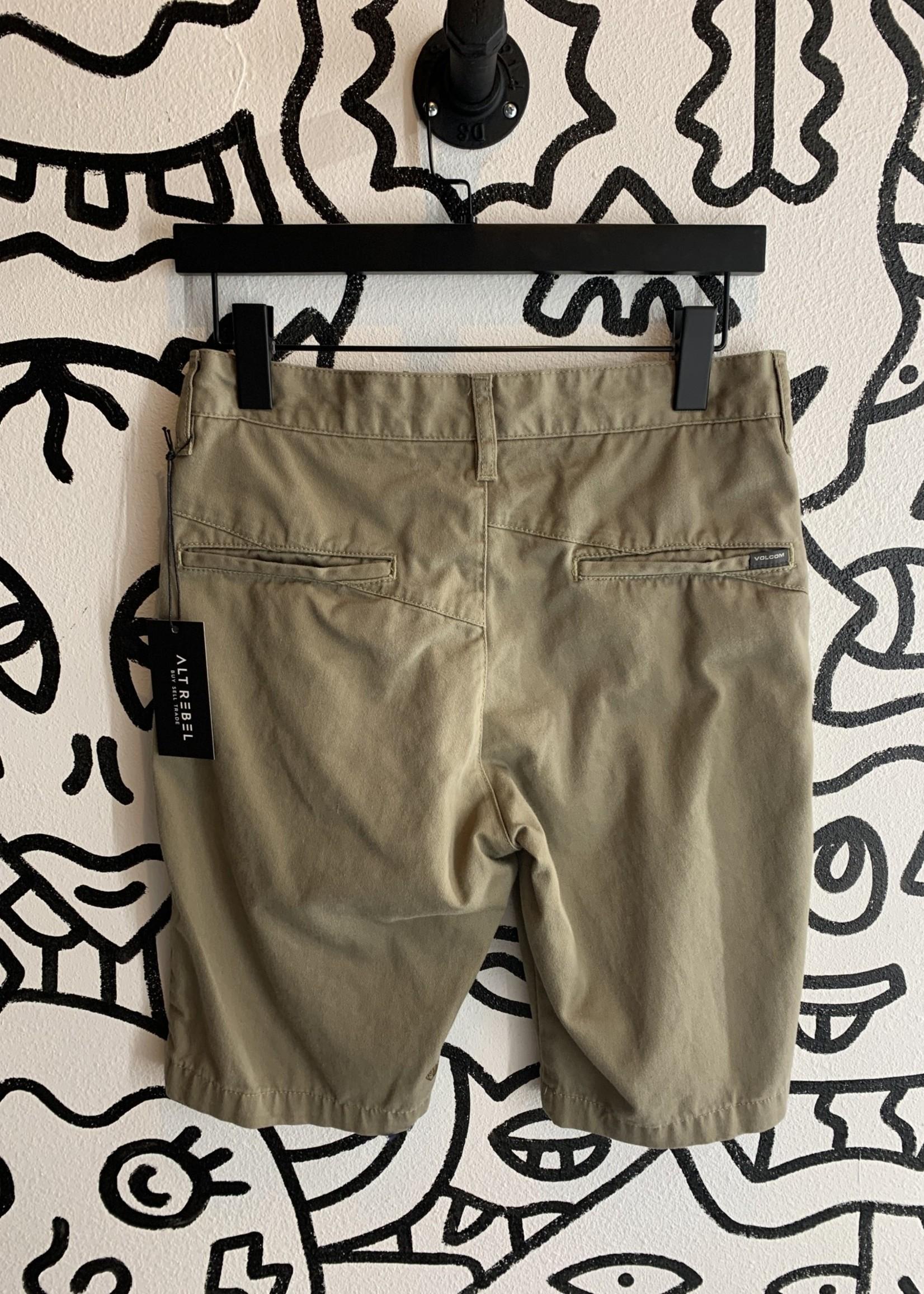 Volcom Khaki Shorts 28