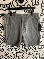 J Crew Grey Polka Dot Shorts 33
