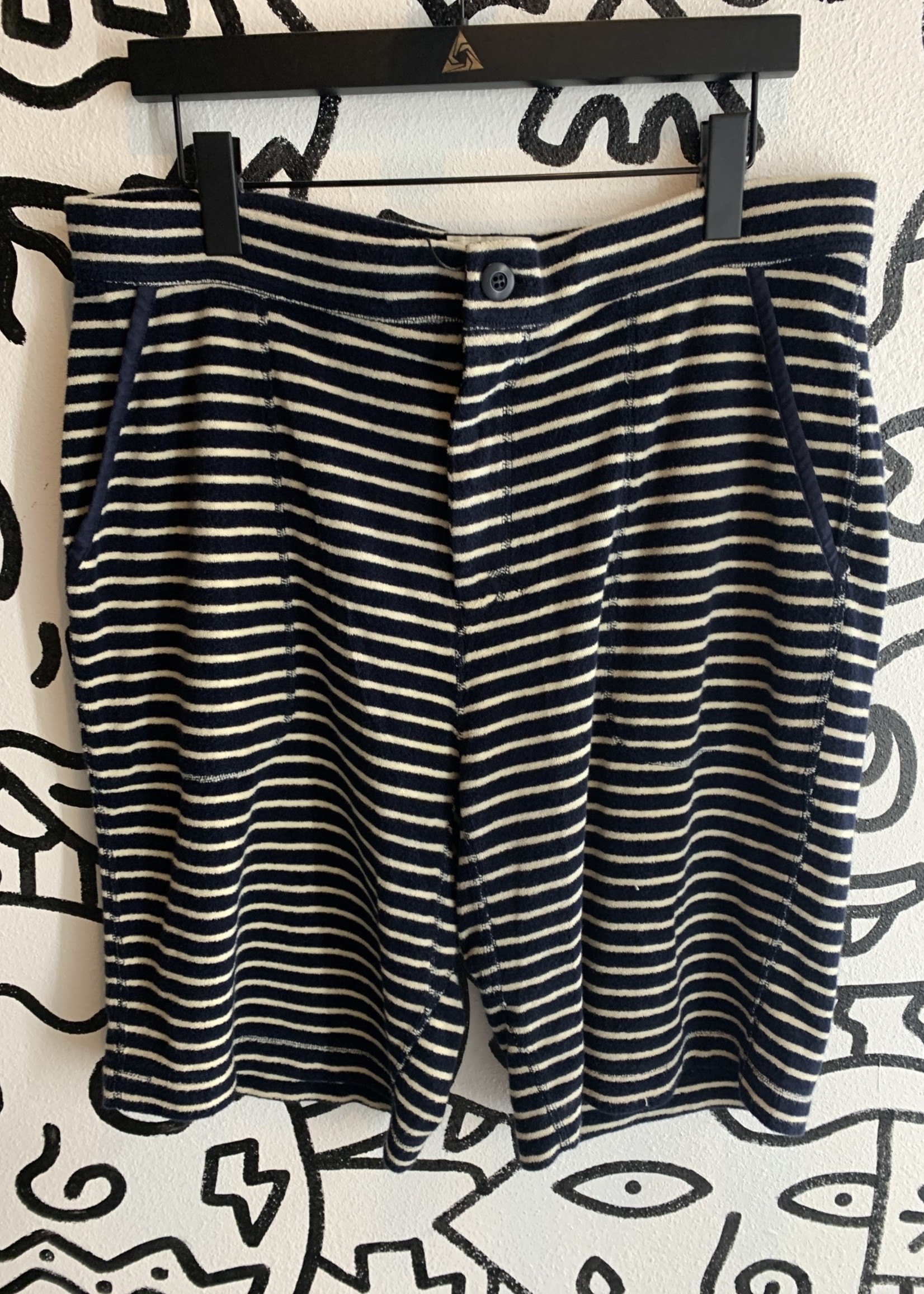 Snowpeak Terry Cloth Striped Shorts XXL
