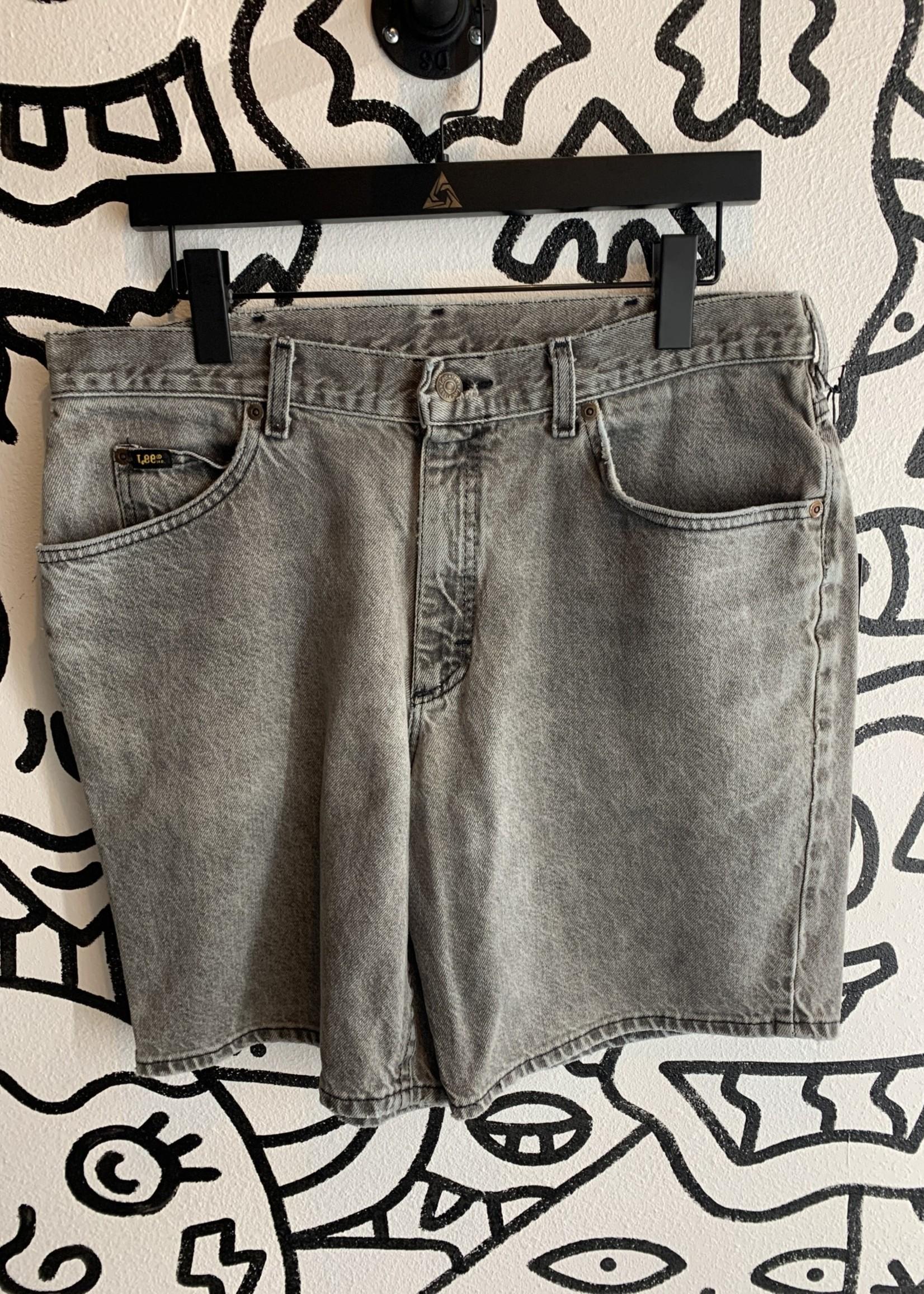 Lee Vintage Grey Jean Shorts 34