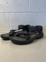 Tevas Dark Blue Patterned Sandals 11