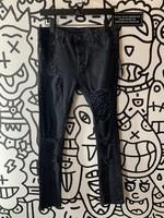Topshop Black Distressed Jeans 32