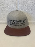 Element Embroidered Maroon Snapback